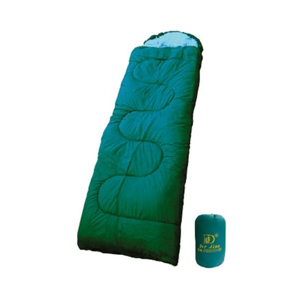 睡袋 DJ-3029四季型4孔睡袋-有附枕頭.可雙拼【配配大賣場】戶外登山露營用品