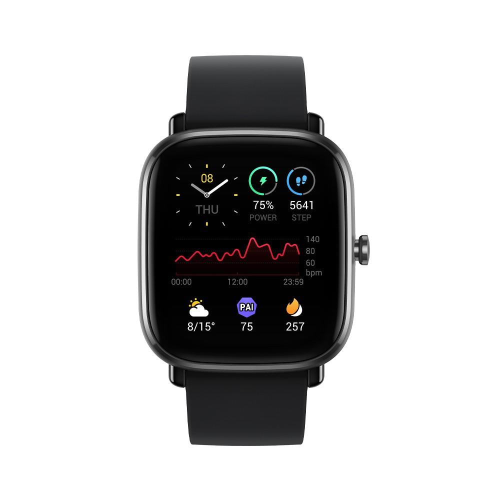 【Amazfit華米】GTS 2 mini 超輕薄健康運動智慧手錶(原廠公司貨)(台灣現貨)(繁體中文版)