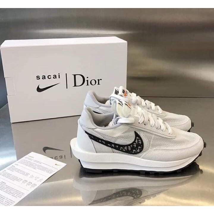 Nike x Sacai x Dior 聯名 20白灰 情侶 休閒鞋 運動鞋 慢跑鞋 預購