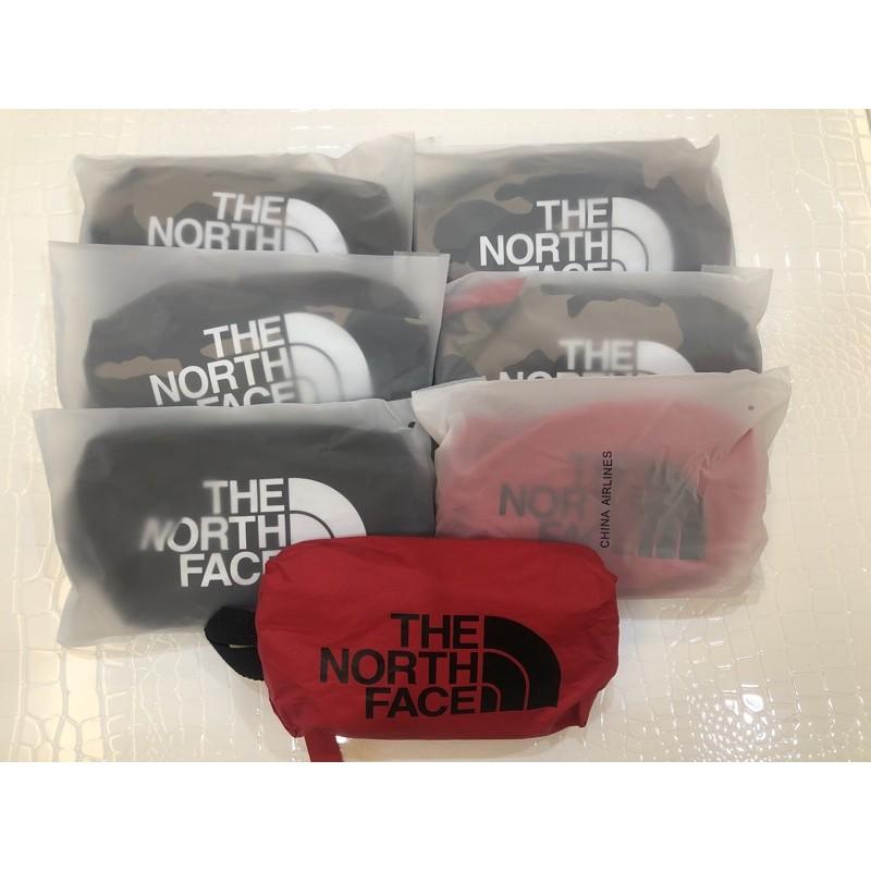 中華航空 The North Face聯名款豪經艙過夜包 盥洗包