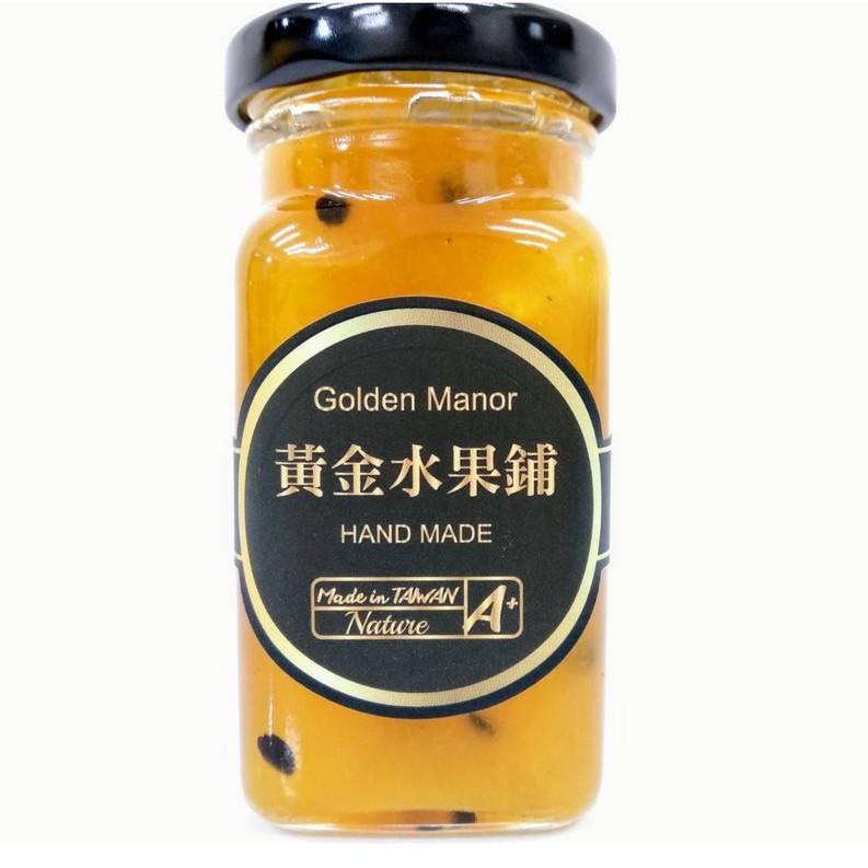 【黃金水果鋪】百香鳳梨 手作果醬(方瓶)130g