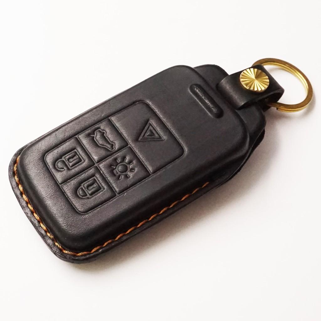 VOLVO xc90 xc70 xc60 v60 v40 s80 s60 富豪 汽車 晶片鑰匙 皮套 手工皮套 植鞣皮