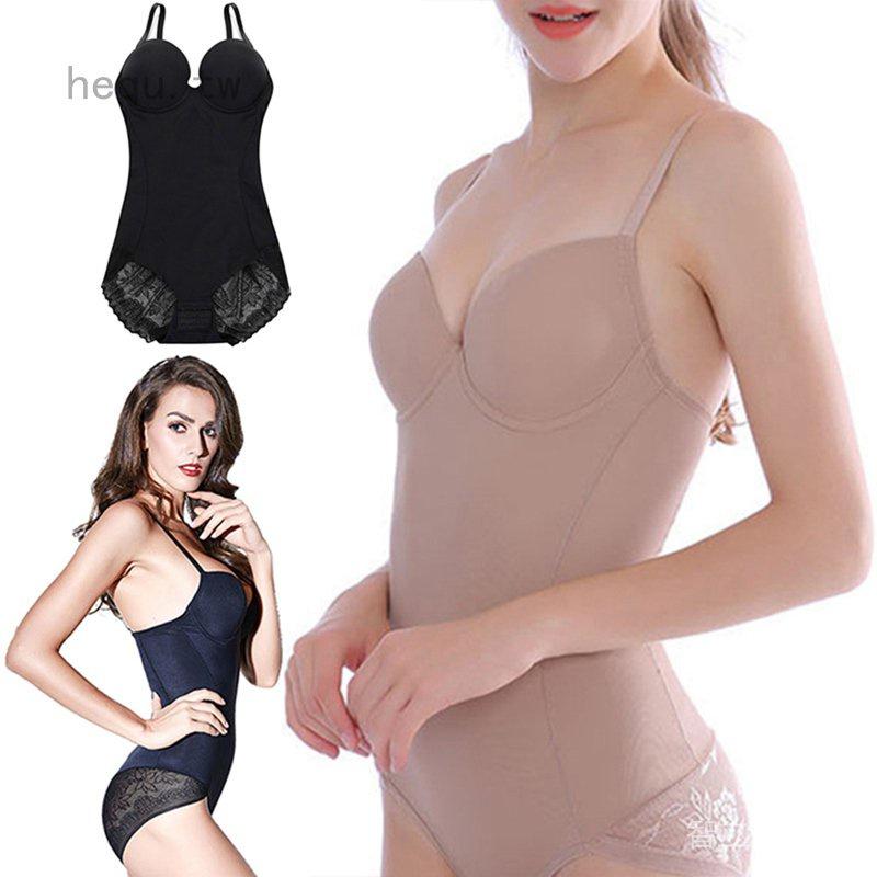 塑身衣美人計連體束身產後收腹帶 束腰帶無痕連體塑身內衣 DYv4