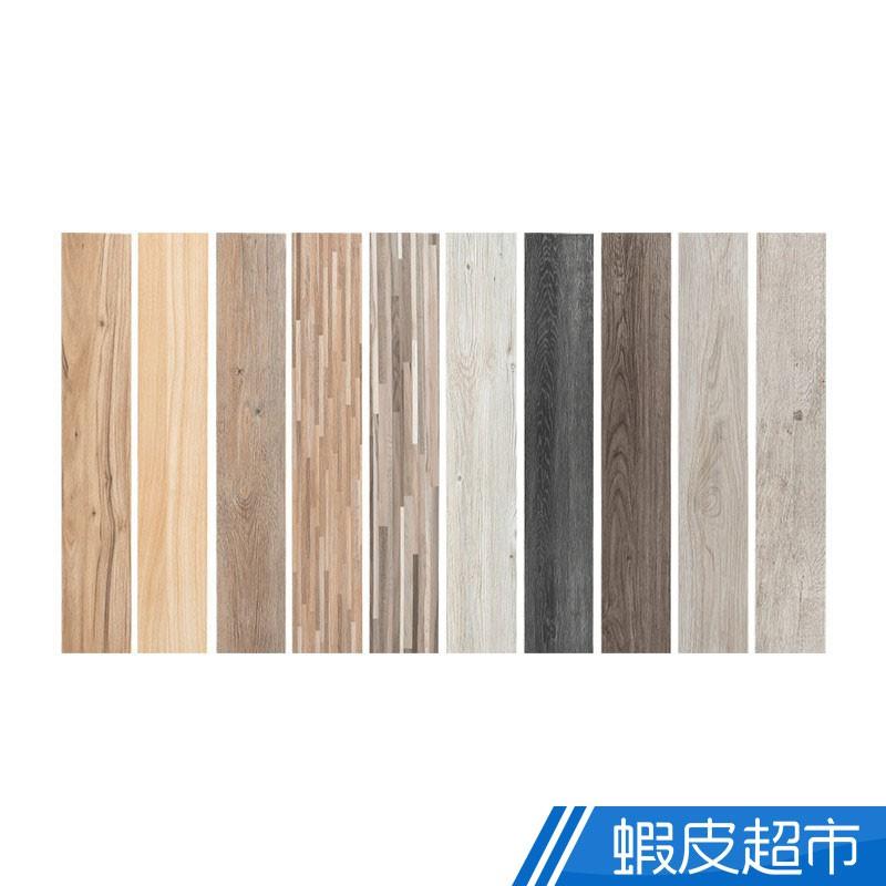 樂嫚妮 台灣製 奈米木紋地板貼 24片/坪 PVC木地板 自黏式DIY 免施工 廠商直送 (輸碼現折)