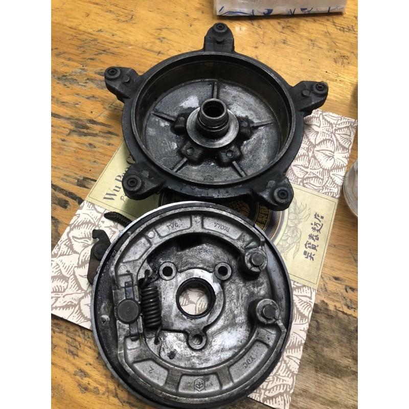【售】:Vespa 偉士牌PK系列PK100,PK125原廠後輪座(含煞車皮)、原廠後輪鼓(哈姆)二手件