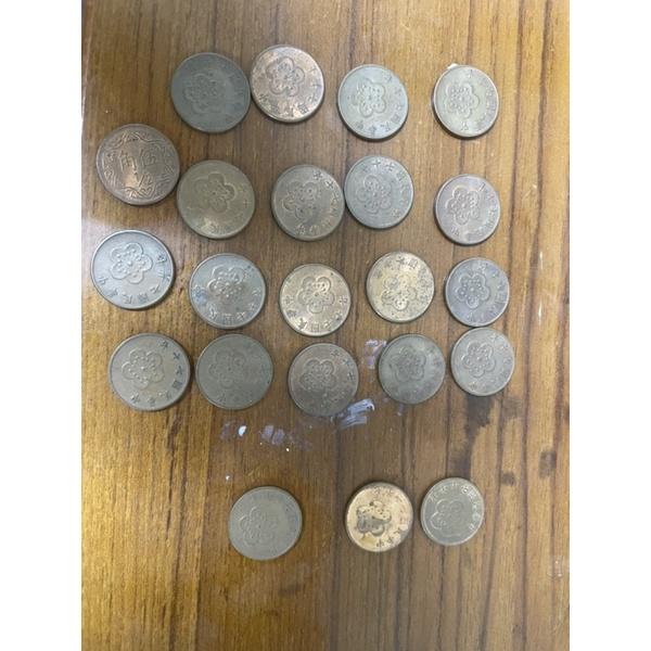 絕版 五角 民國 70年 77年 5角 七十年 七十七年 伍角 硬幣 梅花 5角 錢幣