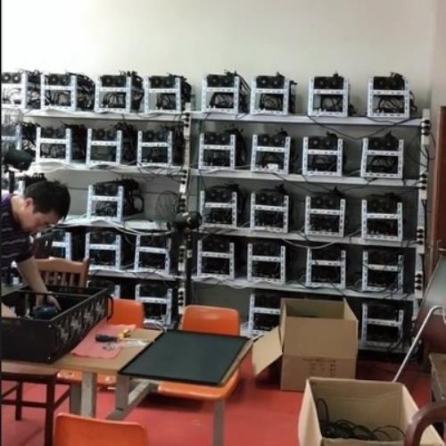 Bitcoin 矿机机架 挖矿多显卡叠加机架以太顯卡坊電腦架散熱架子挖礦貨架區塊鏈比特支架挖礦機架