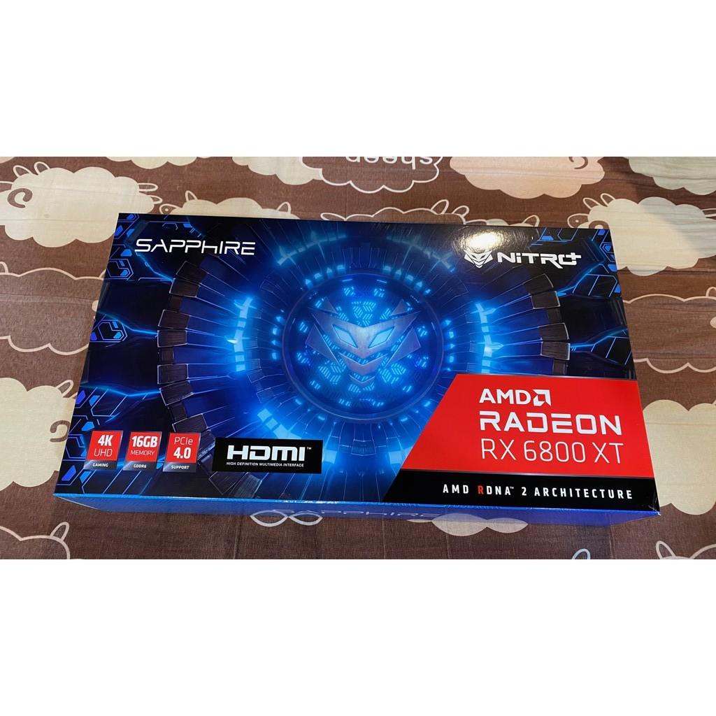 全新 SAPPHIRE 藍寶石 NITRO AMD Radeon RX 6800XT 超白金 OC 現貨 GDDR6