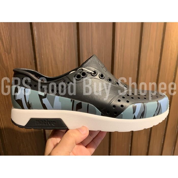 【GBS】Native LENNOX BLOCK 雷諾系列男女休閒鞋洞洞鞋 11105002-8788 10新品