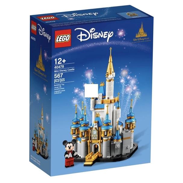 ❗️現貨❗️LEGO 40478 迷你迪士尼城堡 全新未拆
