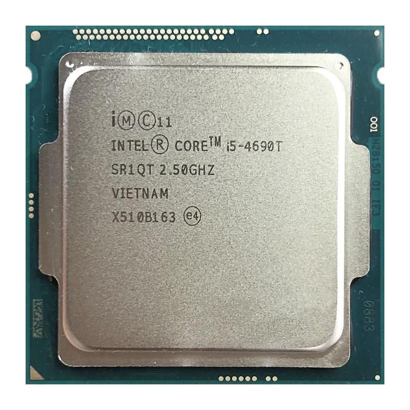 英特爾酷睿i5-4690T i5 4690T 2.5 GHz四核四線程CPU處理器L2 = 1M L3 = 6M 45W