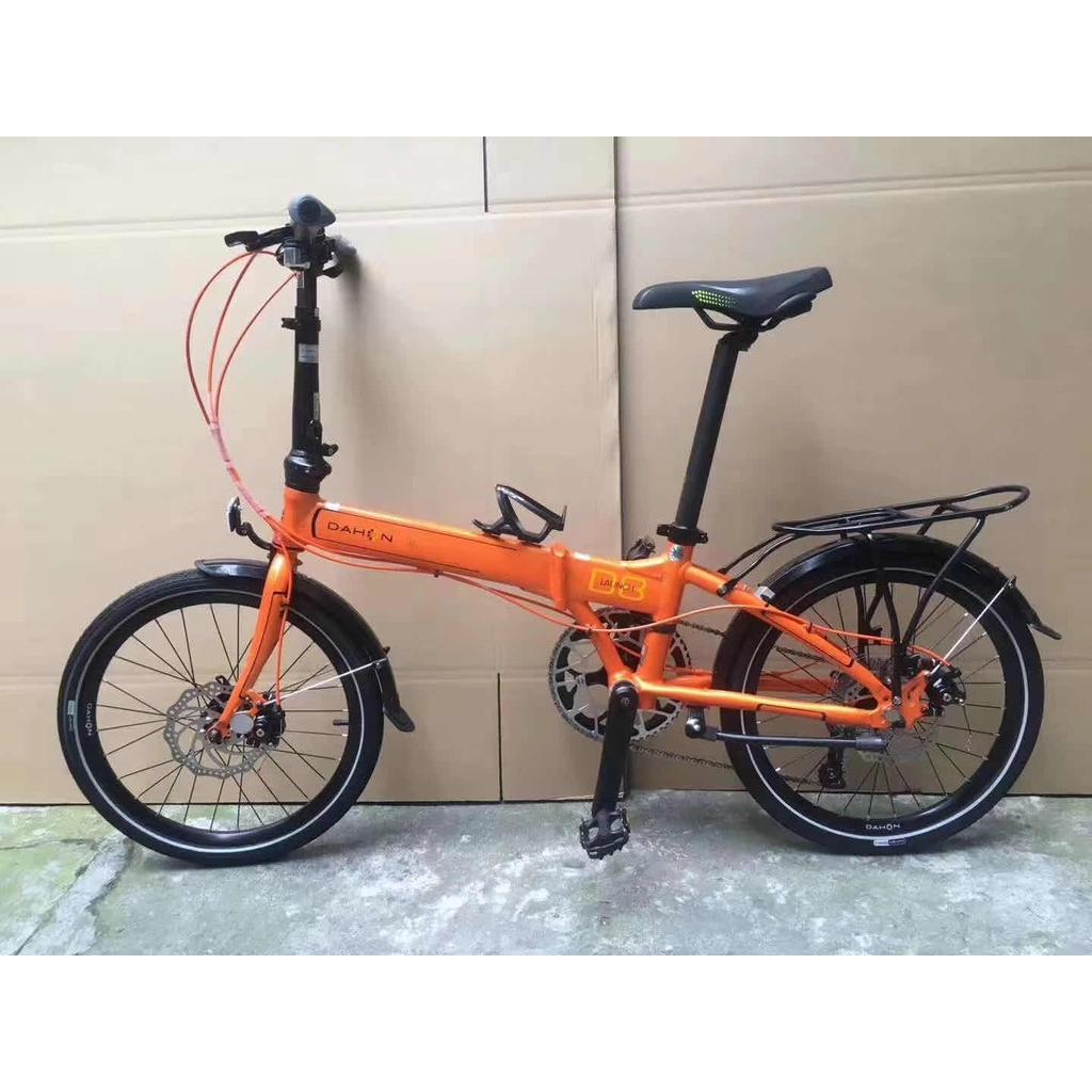 ⭐優質現貨 折疊自行車 ⭐♈▼◘二手DAHON大行20寸變速P8 18 S18 412 D8碟剎折疊自行車成年男女
