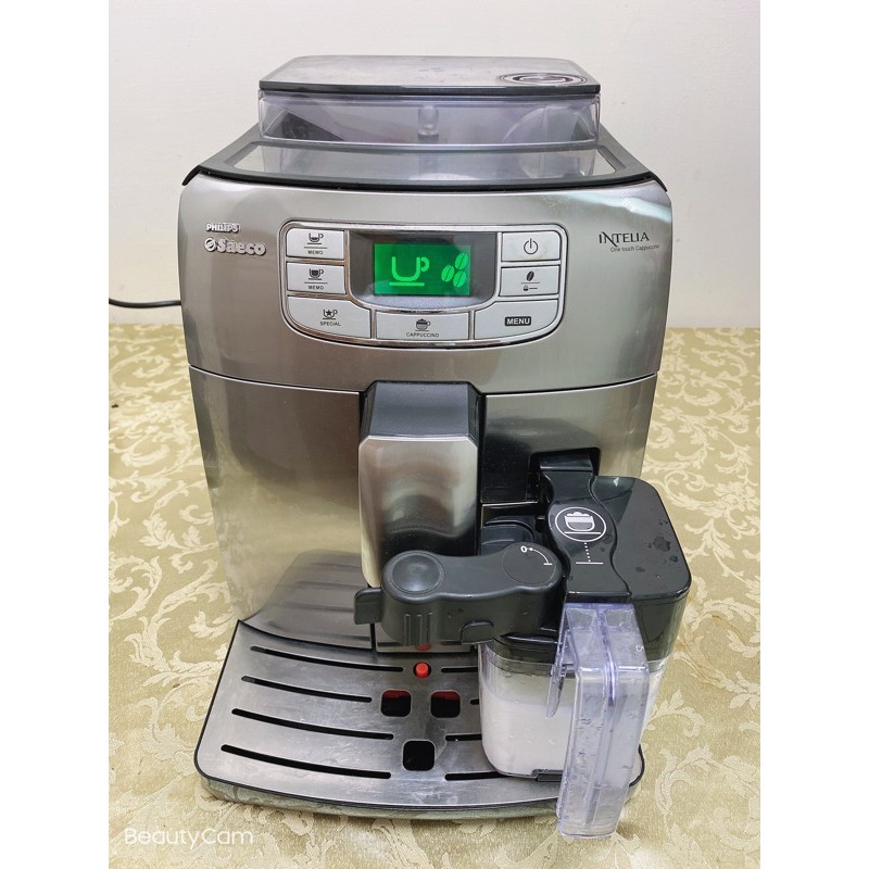 Saeco 飛利浦 全自動義式咖啡機 義式咖啡機Intelia cappuccino HD8753
