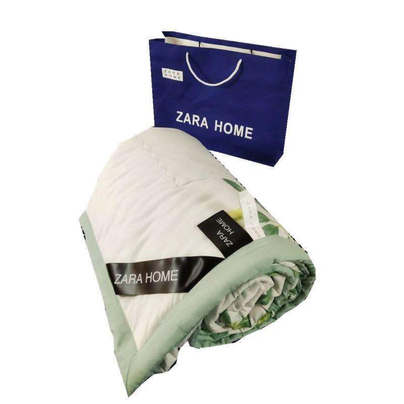 【Zara home夏被】♠爆款西班牙Zarahome夏涼被水洗棉夏被雙人空調被子夏季薄被可機洗