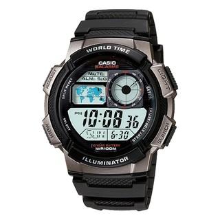 CASIO  AE-1000W-1B 男錶 電子錶 橡膠帶 模擬飛機儀表板環球  LED AE-1000W 臺中市