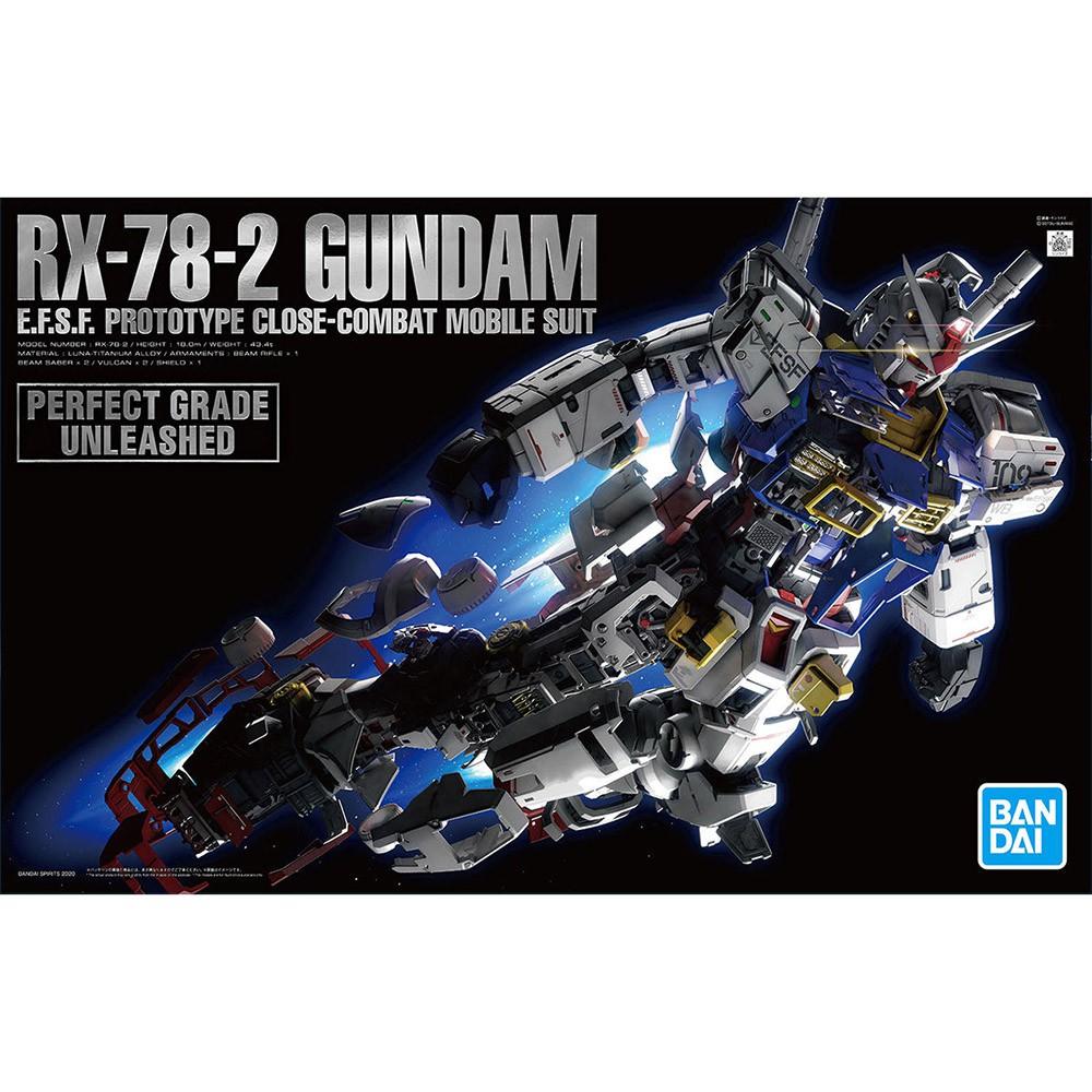 現貨1盒 鋼彈倉庫 - BANDAI PG UNLEASHED 1/60 RX-78-2 GUNDAM 鋼彈