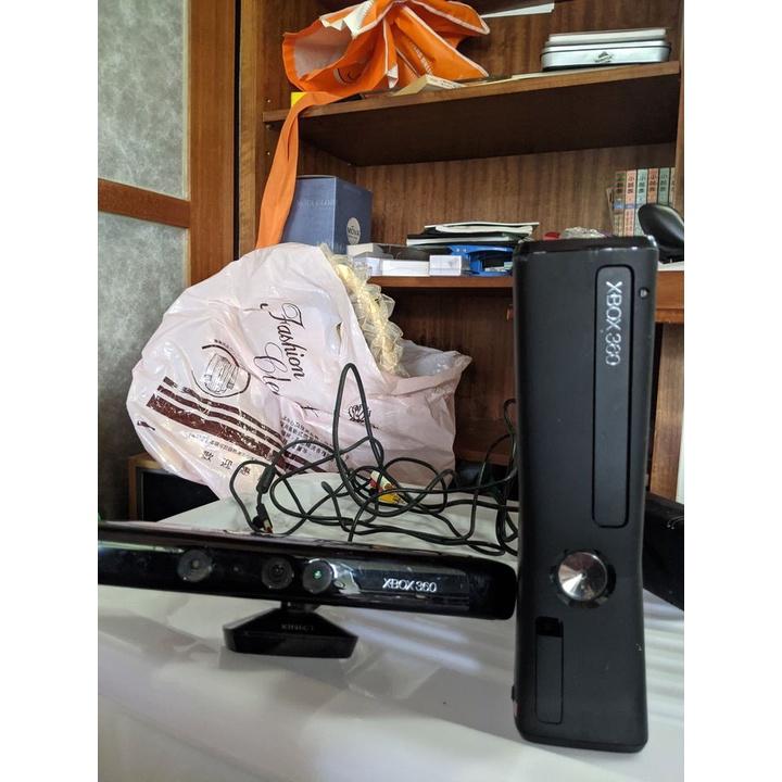 xbox360 主機已改機LT3.0 320g硬碟 KINECT感應器視訊攝影鏡頭