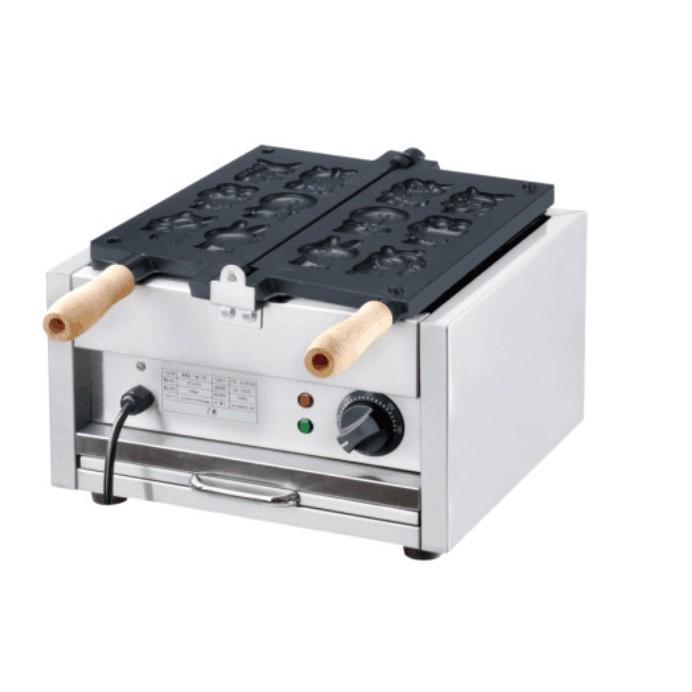 商用 電力式卡通雞蛋糕機 可翻式