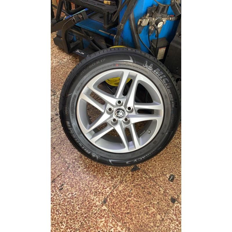 高雄人人輪胎 新車落地 Toyota chr c-hr 17吋 原廠鋁圈 5孔114.3 6.5J ET45 不含輪胎