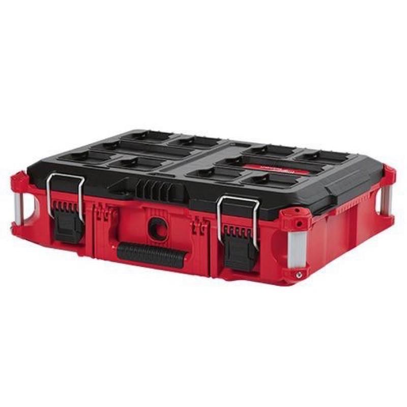 系統工具箱|Milwaukee 米沃奇 48-22-8424 配套工具箱 中 中型工具箱 可堆疊 收納箱 工具盒 含稅