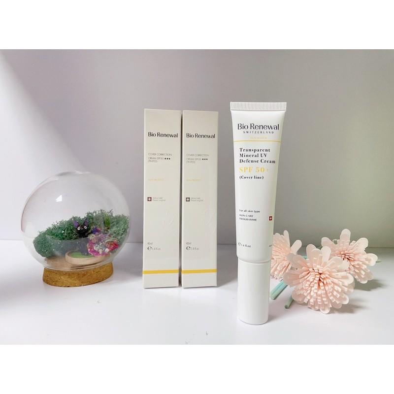 Bio renewal清透淨白防曬乳spf 50(膚)