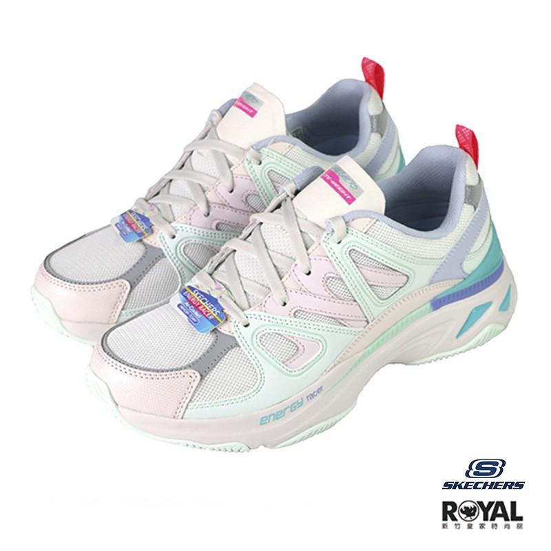 Skechers Energy Racer 粉色 皮質 休閒運動鞋 女款NO.J0576【新竹皇家 149371LPMT