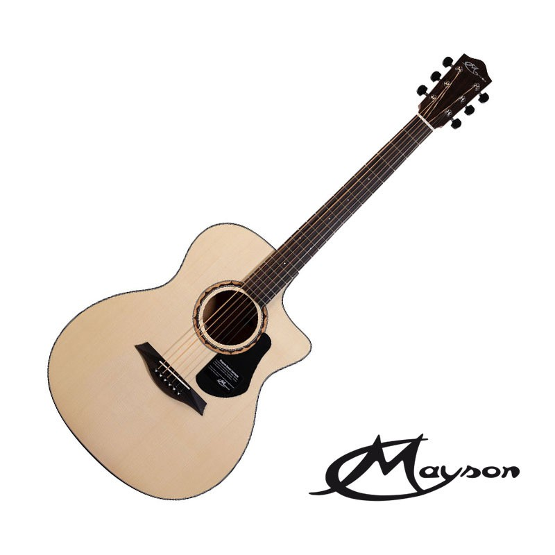 Mayson Alpha 3 40吋 雲杉面單 民謠吉他 - 【他,在旅行】