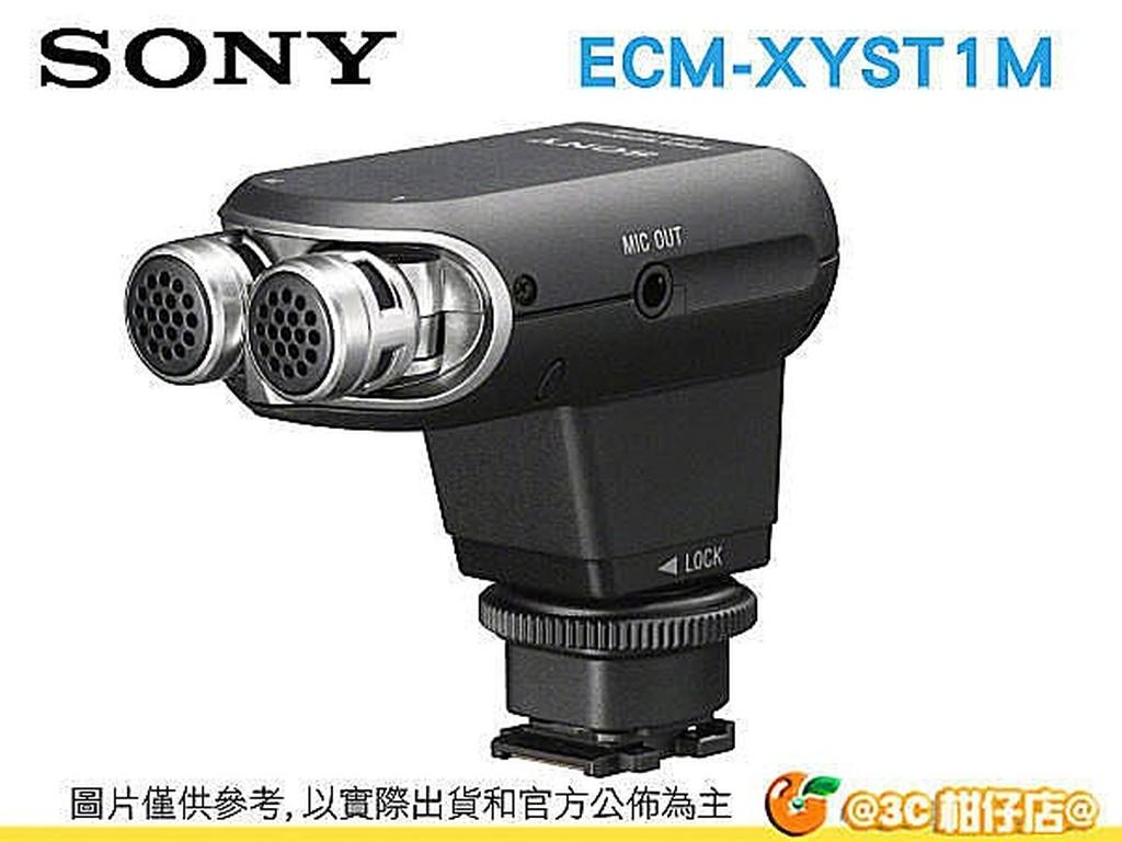 SONY ECM-XYST1M 立體聲麥克風 公司貨 A6400 A7R4 RX10M4 AX700 RX100M7適