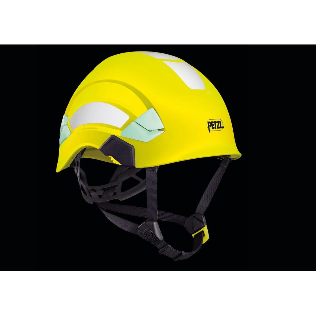 伊凱文戶外PETZL 反光高能見度工程安全頭盔/安全帽 Vertex HI-VIZ 新版 兩色可選 岩盔 A010DA