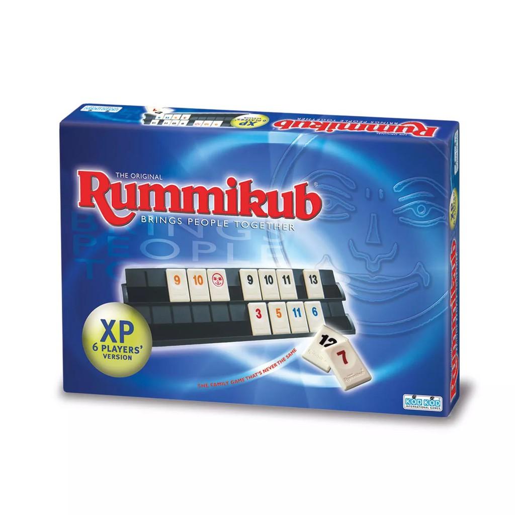 《GeGeGO》拉密六人版  Rummikub XP 【桌弄正版桌遊】