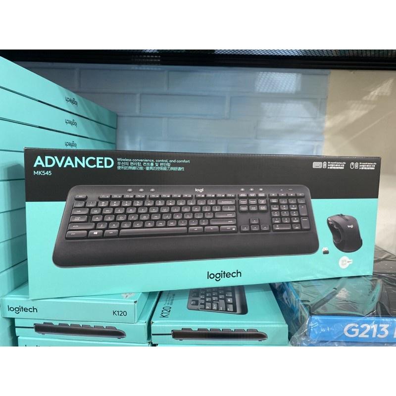 正品 保固羅技 MK545 無線鍵盤滑鼠組 Unifying 接收器 隨插即用 1年有限硬體保固❤星光數碼3C