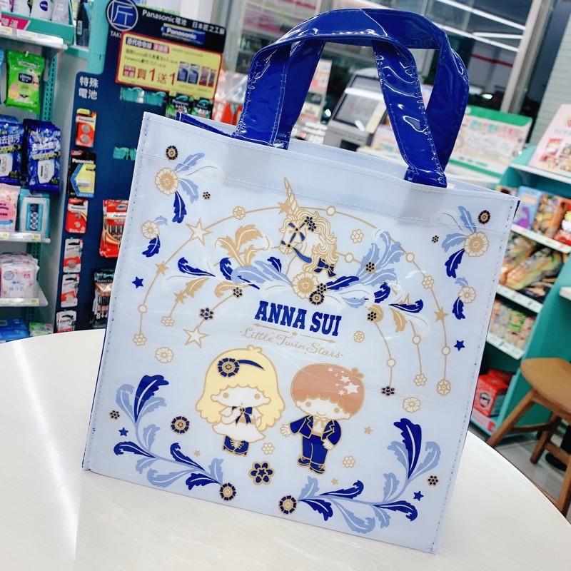 7-11超商Anna Sui &Sanrii 聯名時尚托特手提袋雙子星