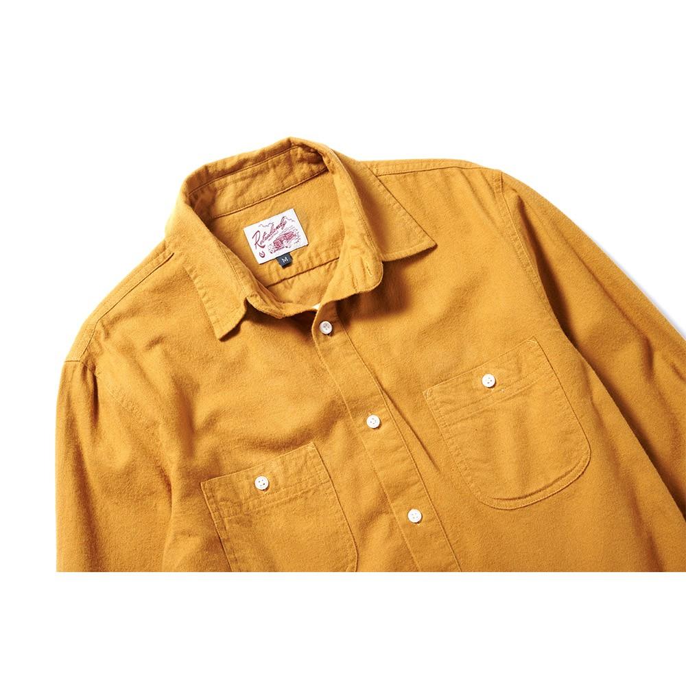 全新 Retrodandy Chamois Shirt - 芥黃 Mustard 現貨