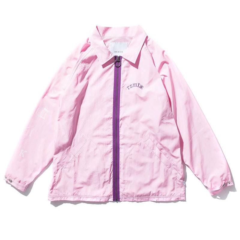 特價5折!! 【REMIX】17SS ARCH COACH JACKET 風衣外套 (粉色) 化學原宿