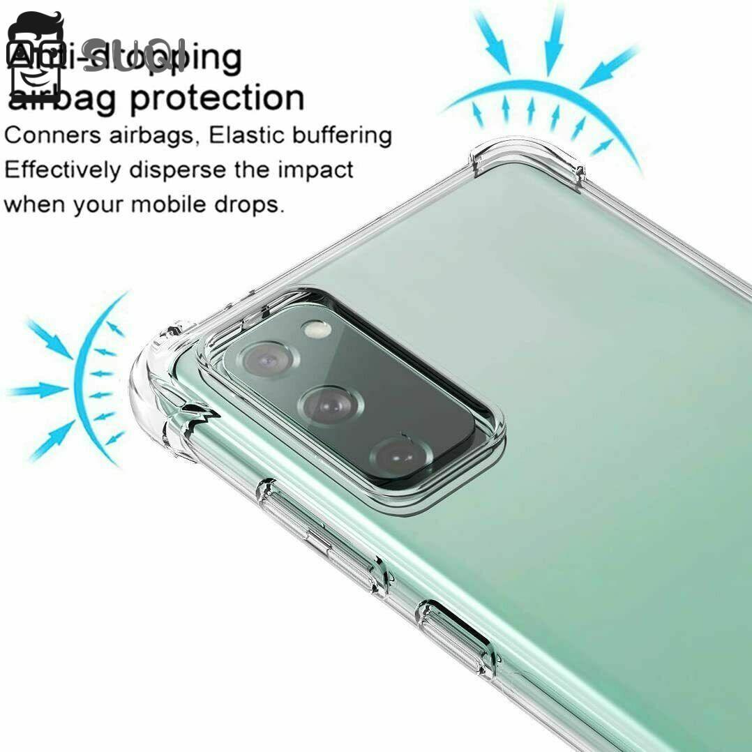 Suqi 輕巧, 適用於 Samsung Galaxy S20 Fe 5g 柔性保護套手機殼新款熱透明防震柔軟透明 Tp