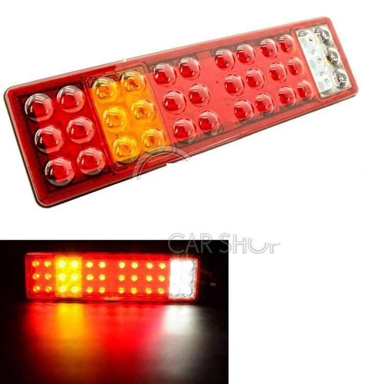 4D高亮度 LED尾燈 倒車燈 方向燈 剎車燈 貨車 後燈 砂石車 24V 卡車 聯結車 拖板車