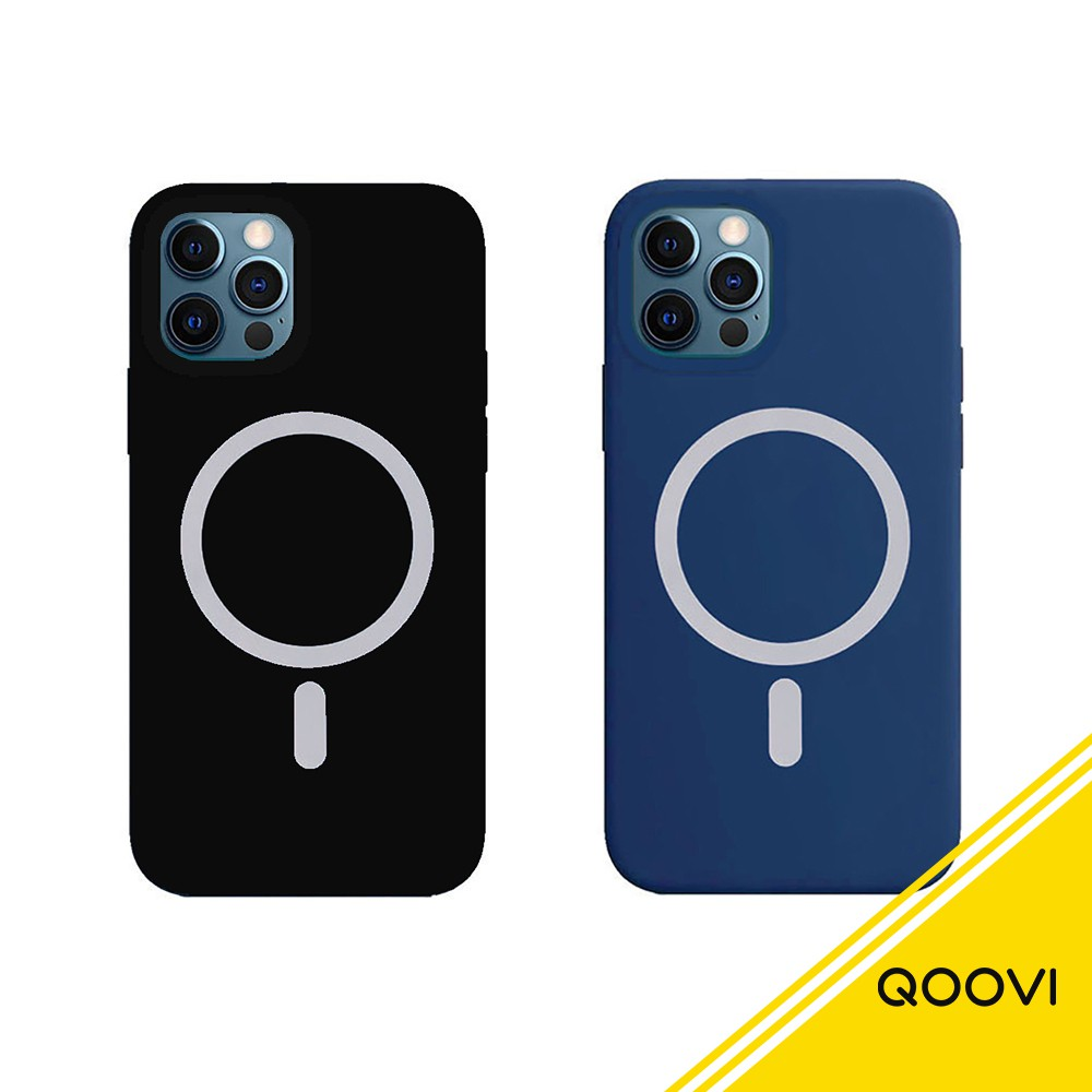 【iPhone】MagSafe 矽膠防摔手機保護殼 適用12/mini/Pro/Max