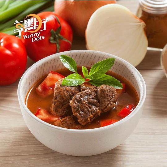 享點子經典/蕃茄牛肉湯500g 5包/組 25包/箱