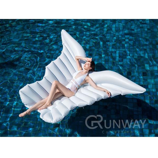 【送打氣筒】歐美新款 大型香蕉浮板 浮床 半透明 香蕉 造型泳圈 大型泳圈 浮板 充氣玩具 泳圈