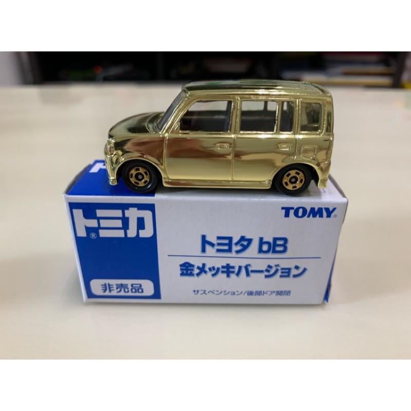 [現貨]Tomica Tomy 舊藍標 非賣品 Toyota bB 金色