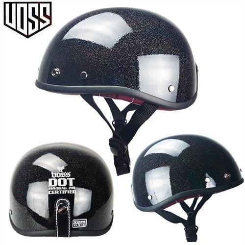 【哈雷頭盔】 VOSS復古頭盔男女哈雷半盔電動摩托車夏季輕便式安全帽瓢盔小盔體
