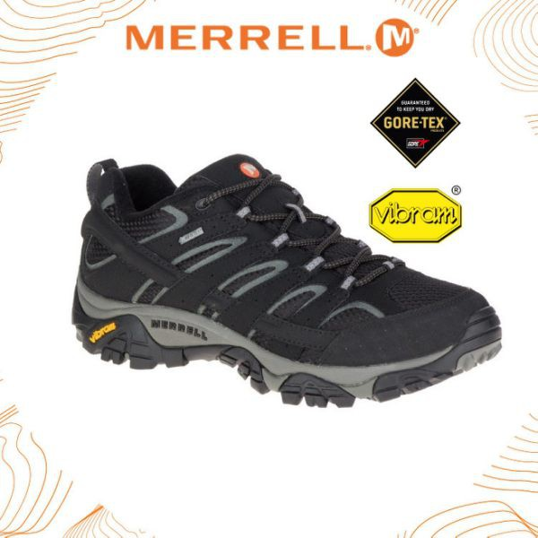 Merrell 46551 Moab 2 Smooth 男運動健行鞋Gore-Tex登山鞋 郊山鞋 黃金大 ... af4113232a6
