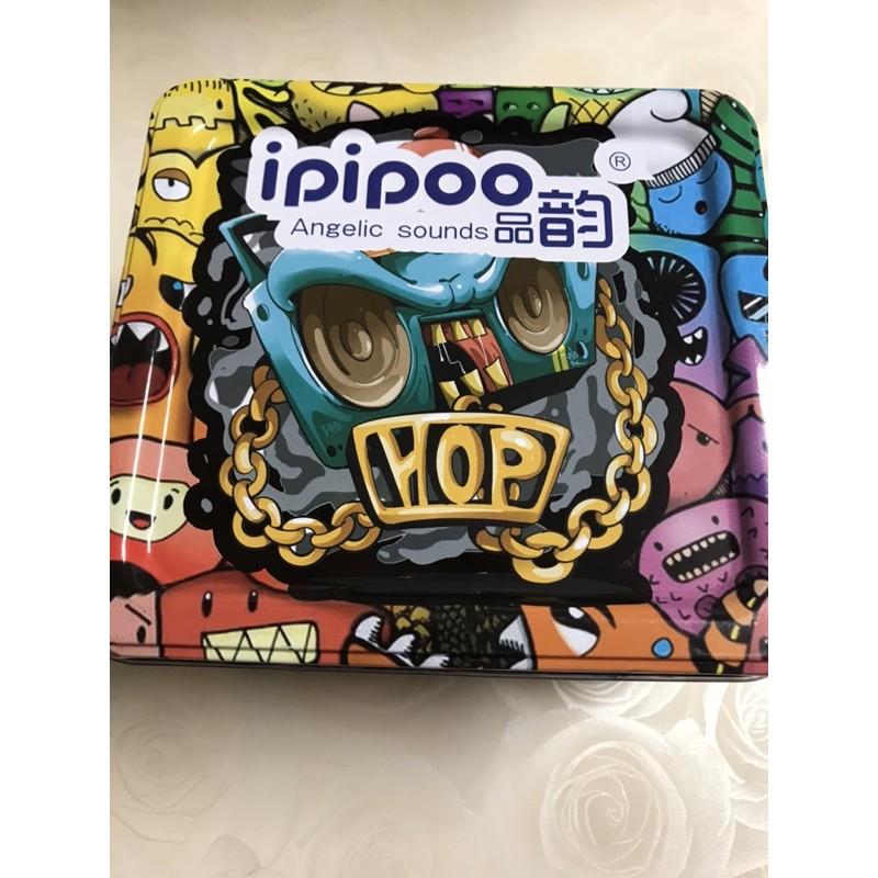 ipipoo 品韵 X-800 貝殼藍芽耳機IP64防水藍芽耳機+充電艙X800