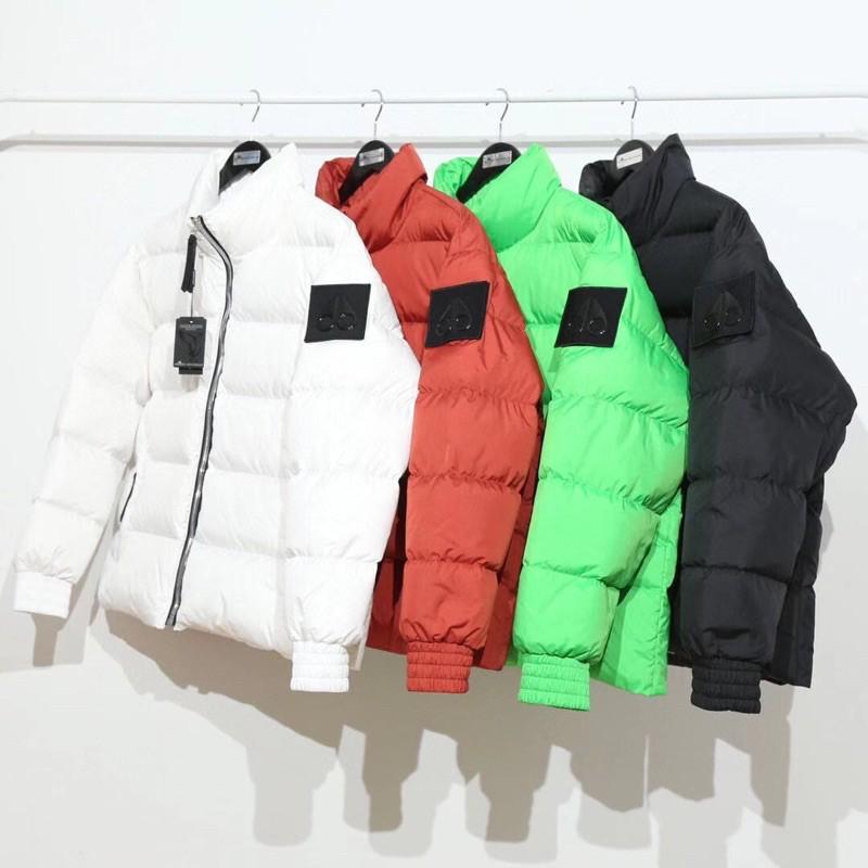 Moose Knuckles Logo Patch Puffer Jacket 羽絨外套