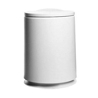 現貨下殺#卍垃圾桶干濕分離款家用車載垃圾桶前排專用全自動拉圾桶翻蓋衛生桶