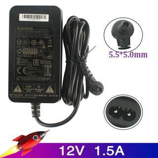 卡西歐CDP-120 130130220 PX-1360 135150160330電源適配器的12V 1.5A 5.5