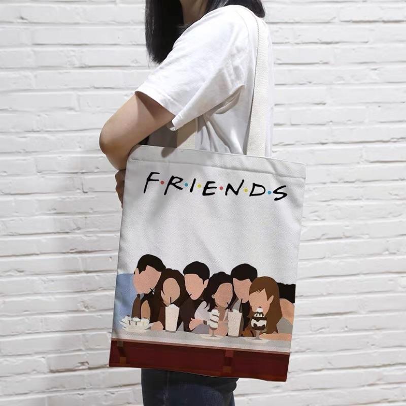 Friends六人行 帆布袋 手提袋 經典美劇老友記周邊
