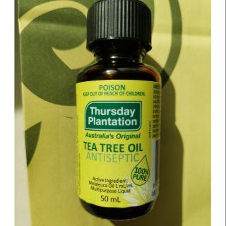 澳洲Thursday Plantation星期四農莊TEA TREE OIL茶樹精油100%pure   50ml/ 罐 高雄市