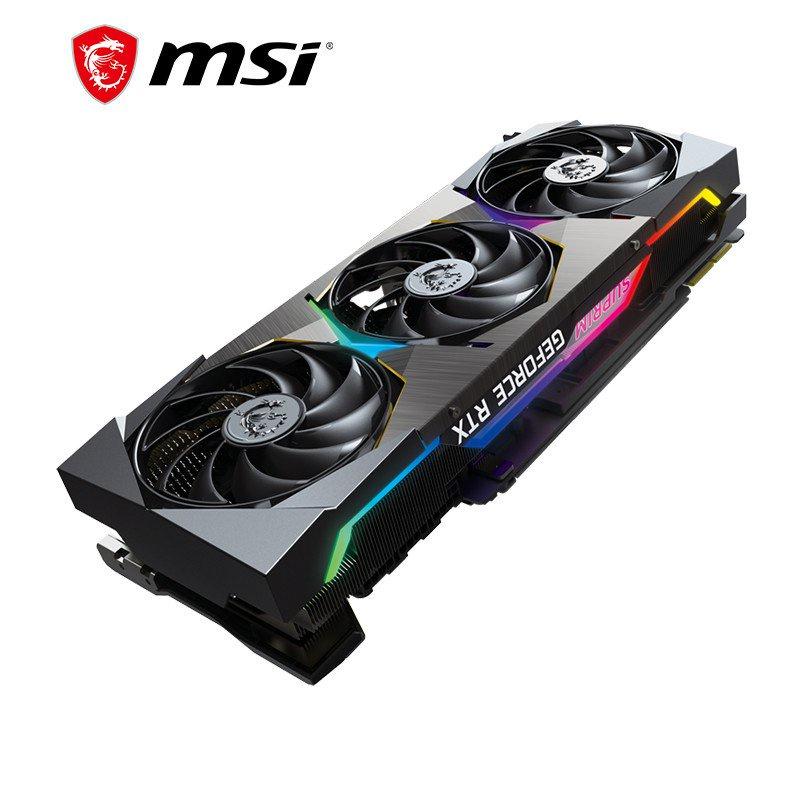 微星(MSI)超龍 GeForce RTX 3090 SUPRIM X 24G 電腦獨立顯卡