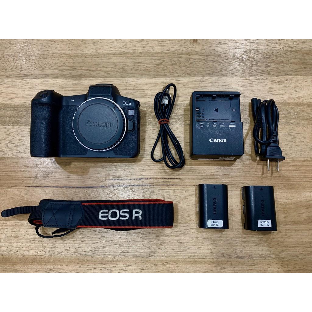 【旋轉牧馬】二手 Canon EOS R 台灣公司貨 (無盒裝)